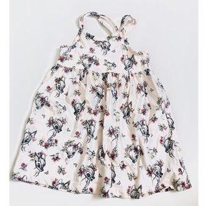 Gap x Disney Blush Bambi Dress